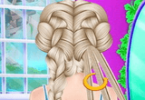 Elsa Coachella Hairstyle Design